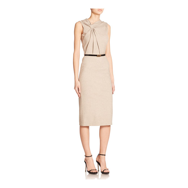 JASON WU Twisted jersey dress - An artful twist panel elevates this form-flattering sheath,...