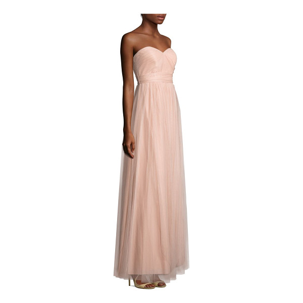 JENNY YOO annabelle tulle convertible dress - A-line gown with convertible straps and built-in bust cups....