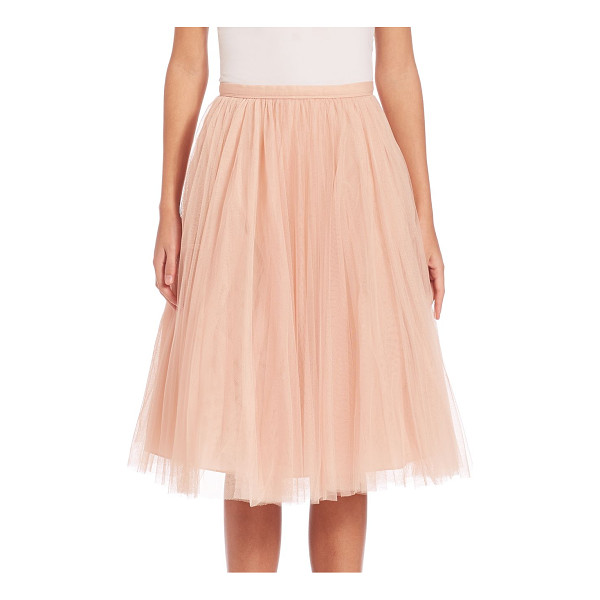 JENNY YOO lucy tulle midi skirt - Whimsical tulle skirt in A-line silhouette. Banded waist....