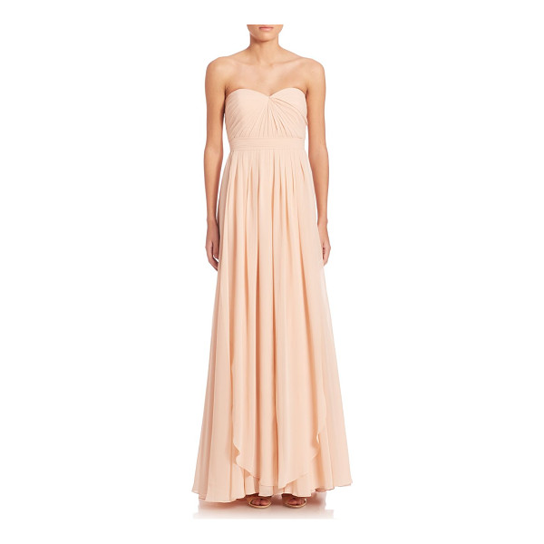 JENNY YOO mira convertible strapless gown - Feminine strapless gown in A-line silhouette. Sweetheart...