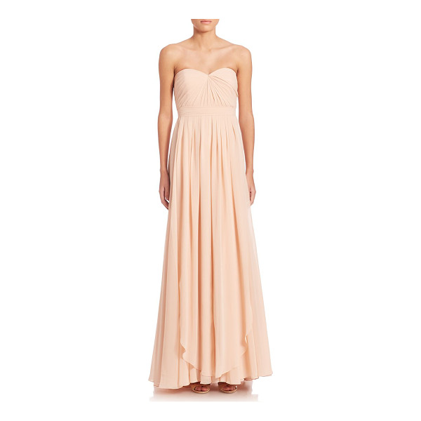 JENNY YOO mira convertible strapless gown - Feminine strapless gown in A-line silhouette. Strapless...