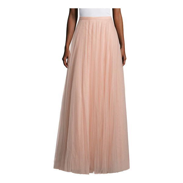 JENNY YOO winslow tulle long skirt - Mesmerizing long skirt for an effortless chic style. Banded...