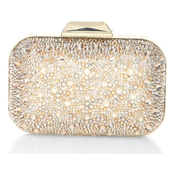 JIMMY CHOO cloud crystal clutch - Glamorous frame clutch encrusted with mixed crystals. Top...