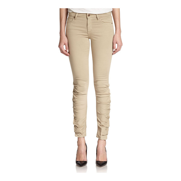 JOE'S Sooo soft ruched skinny jeans - Crafted in an ultra-soft, Italian cotton blend, this slim...