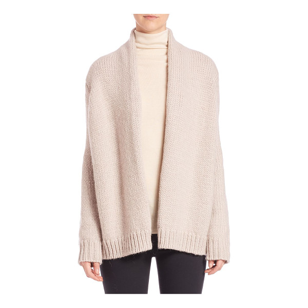 JOIE Brunone cozy open-front cardigan - Perfectly slouched, this open-front cardigan is crafted...