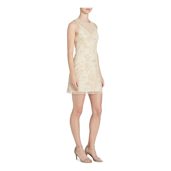 JONATHAN SIMKHAI embellished lace dress - Radiant sequins and lace detail this sleeveless dress....