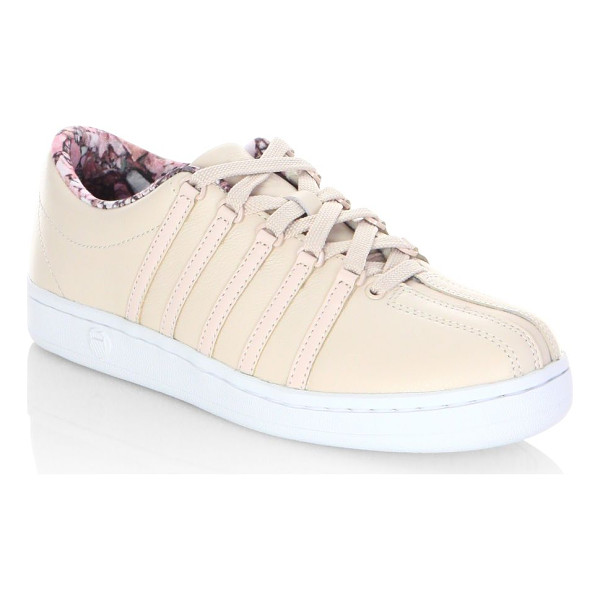 K-SWISS courtstyle classic leather sneakers - From the Courtstyle collection. Feminine sneakers highlight...