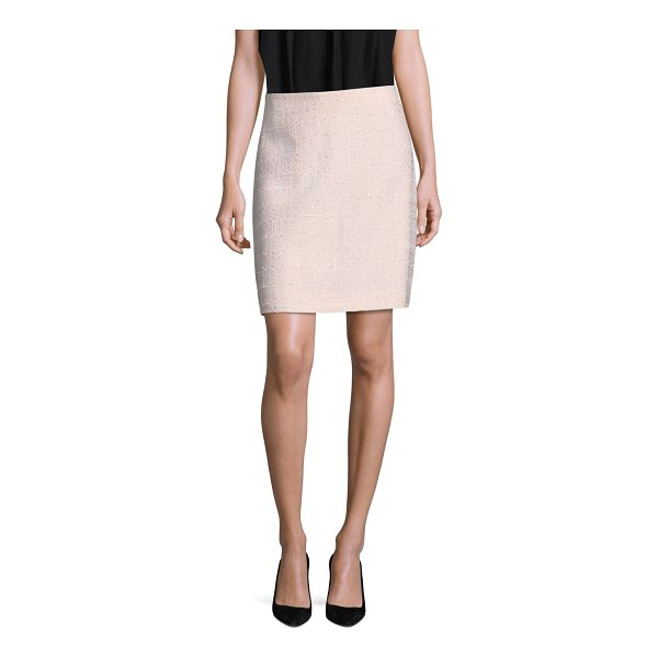 KATE SPADE NEW YORK audree midi a-line skirt - This mini skirt is cut in a flattering A-line shape. Banded...