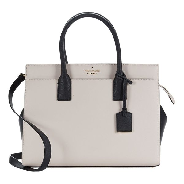 KATE SPADE NEW YORK candace leather satchel - From the Cameron Street Collection.A classic boxy shape,...