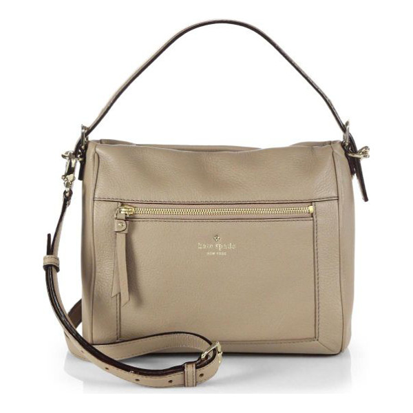 KATE SPADE NEW YORK Small harris shoulder bag - This relaxed silhouette is crafted from supple leather and...