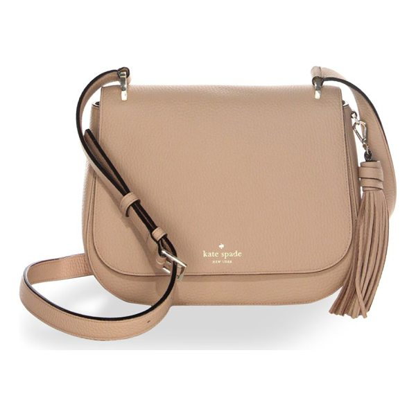 KATE SPADE NEW YORK daniels drive tressa bag - From the Daniels Drive Collection. Leather bag with tassel...