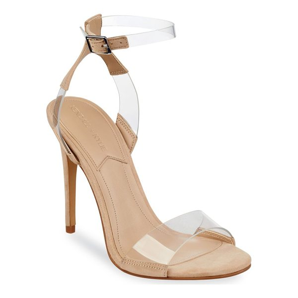 KENDALL + KYLIE enya slingback sandals - On-trend sandals with transparent straps. Covered heel,...