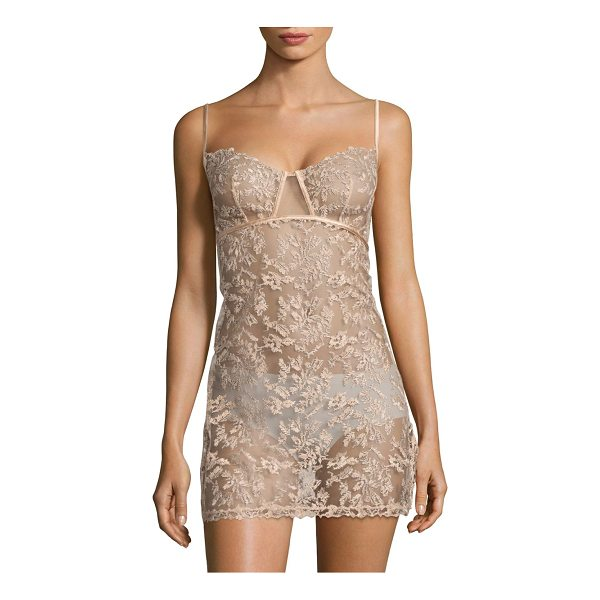LA PERLA autografo embroidered tulle babydoll - From the Autografo Collection. Calligraphy-effect...