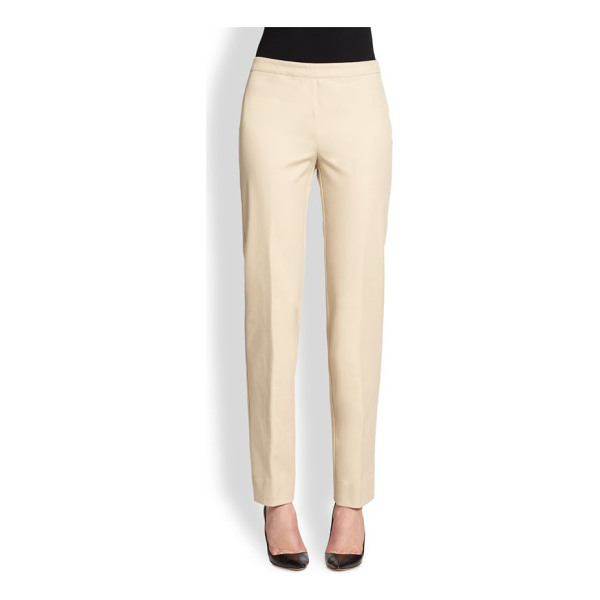 LAFAYETTE 148 NEW YORK bleecker jodhpur cloth pants - A work-to-weekend classic, tailored from cotton chino in a...
