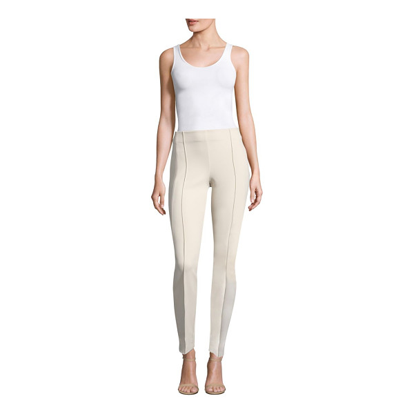 LAFAYETTE 148 NEW YORK acclaimed stretch gramercy pants - Pinched seams add extra character to a slim city style in a...