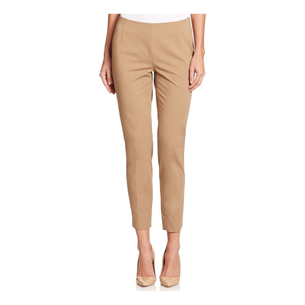 LAFAYETTE 148 NEW YORK Stanton bi-stretch ankle pants - Classic, polished ankle pants in slim silhouetteSelf...