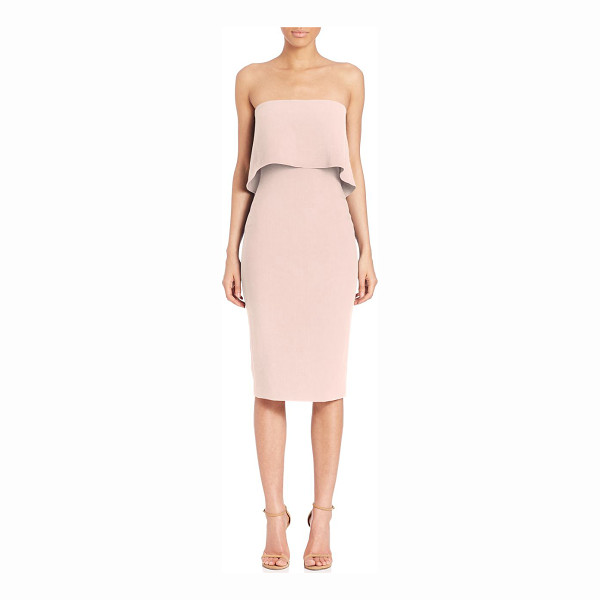 LIKELY driggs strapless dress - Flirty strapless dress in body-con silhouette. Straight...