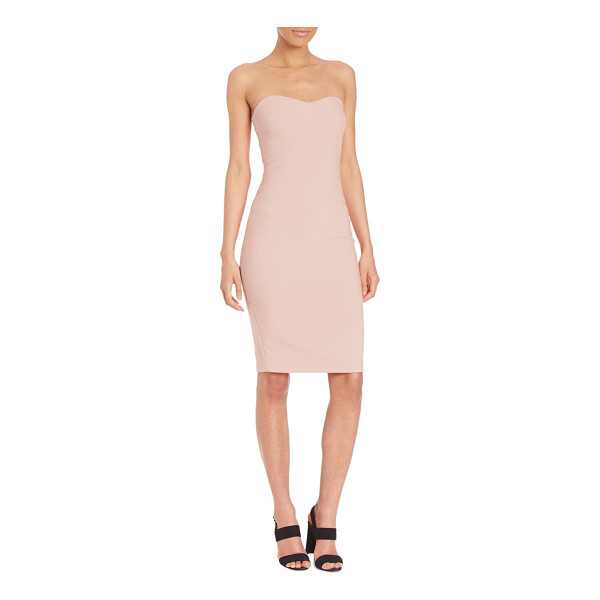 LIKELY lauren dress - Strapless dress in sultry bodycon silhouette. Sweetheart...