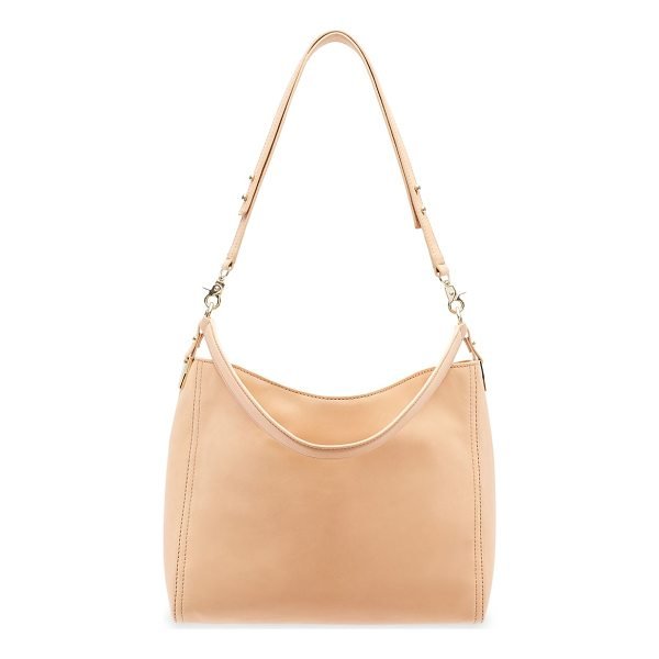 LOEFFLER RANDALL leather crossbody hobo bag - Elegant crossbody hobo bag crafted from leather. Top...