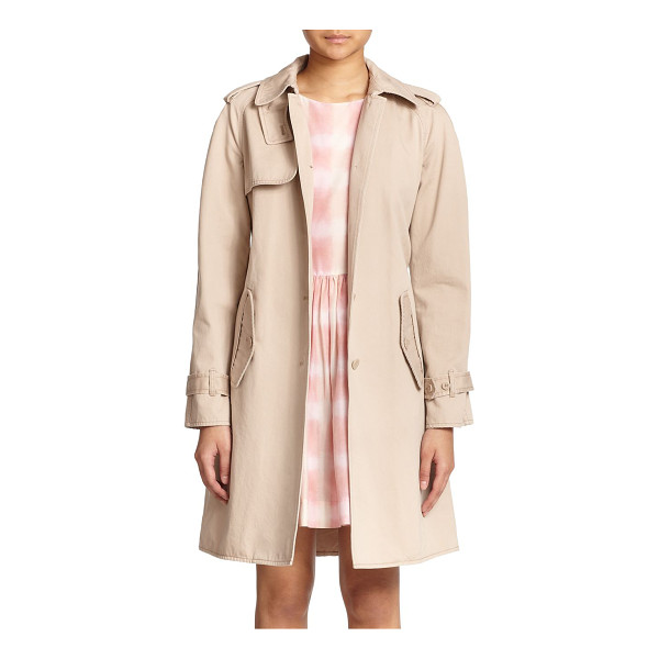MARC BY MARC JACOBS Classic cotton trenchcoat - A timeless wardrobe staple in lightweight cotton, updated...