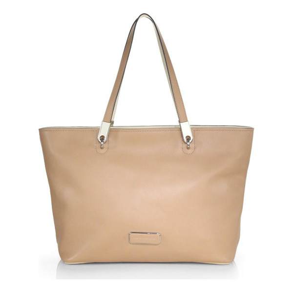 MARC BY MARC JACOBS Ligero tote - This everyday tote is crafted from supple leather and...