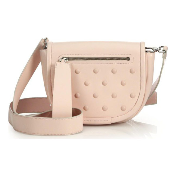 "MARC BY MARC JACOBS Luna studded crossbody bag - li9.75""W X 6.25""H X 3.25""DLeatherImported"