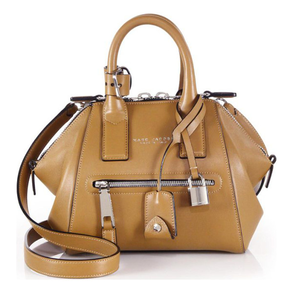 MARC JACOBS Incognito mini smooth leather top-handle bag - taly