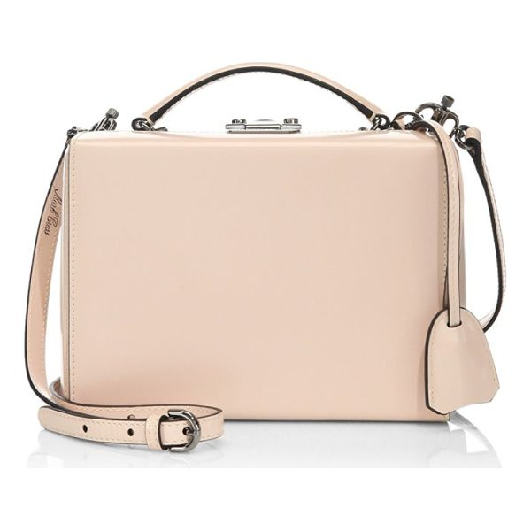 MARK CROSS grace small box ballet leather shoulder bag - Leather shoulder bag featuring an applique detail. Top...