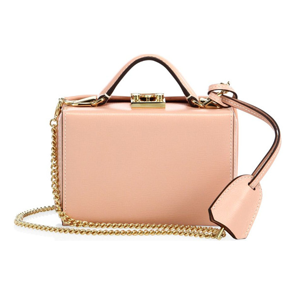 MARK CROSS grace small python box crossbody bag - Petite boxy silhouette for styling as a crossbody or...