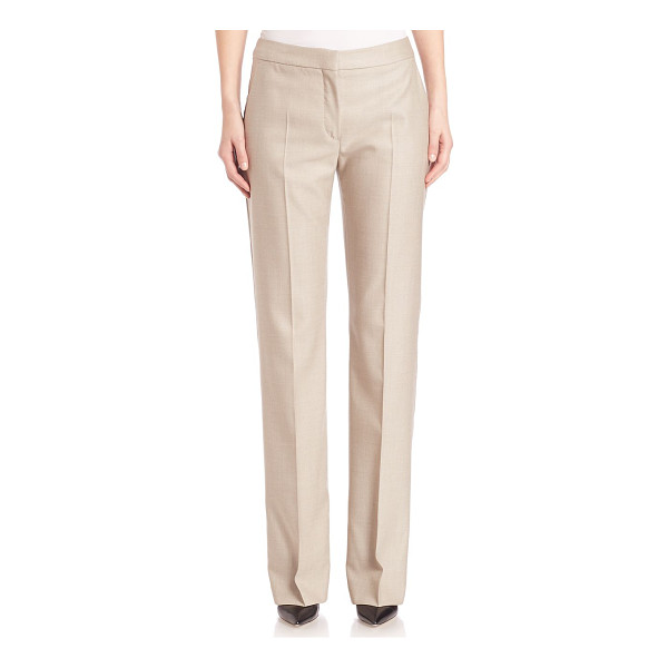 MAX MARA alessia wool blend trousers - Sleek trousers with a timeless, tailored fit. Banded waist....