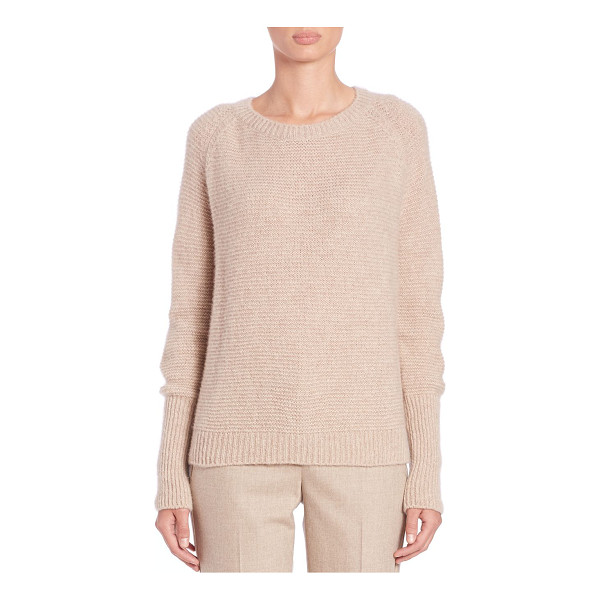 MAX MARA Brezza silk-cashmere sweater - Elongated sleeve cuffs add a modern look to this plush...