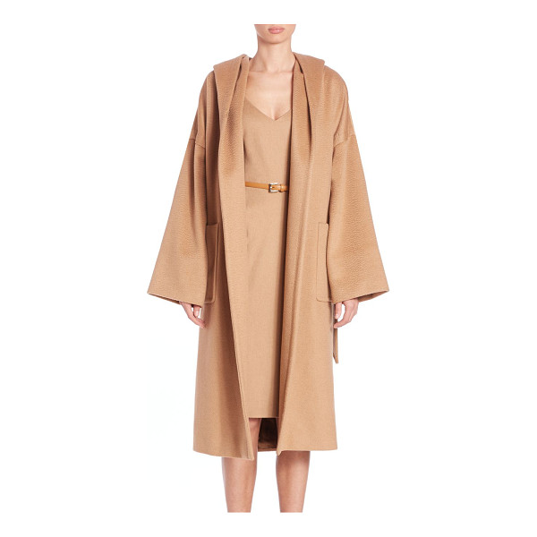 MAX MARA Goloso oversized camelhair coat - A signature camelhair coat in an oversized...