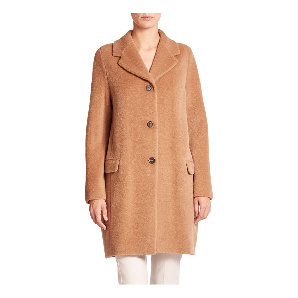 MAX MARA Tony alpaca/wool coat - A soft, silky, luxurious blend of alpaca and wool from...