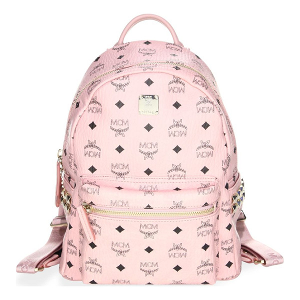 MCM stark small studded backpack - EXCLUSIVELY AT SAKS.COM.From the Stark Collection....