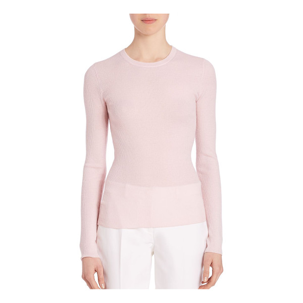 MICHAEL KORS COLLECTION fitted cashmere sweater - Luxurious lightweight cashmere with a slim fit. Crewneck....