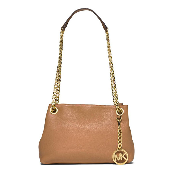 MICHAEL MICHAEL KORS Jet set chain crossbody bag - This petite crossbody design is elevated by a long,...