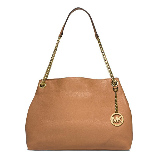 MICHAEL MICHAEL KORS Jet set chain shoulder bag - Designed with just a hint of slouch, this buttery-soft...