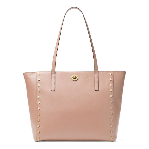 MICHAEL MICHAEL KORS large rivington studded leather tote - Leather trapeze tote framed with polished disc studs....