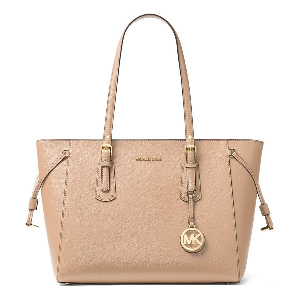 MICHAEL MICHAEL KORS voyager medium leather tote - Classic on-the-go tote for all your daily essentials....