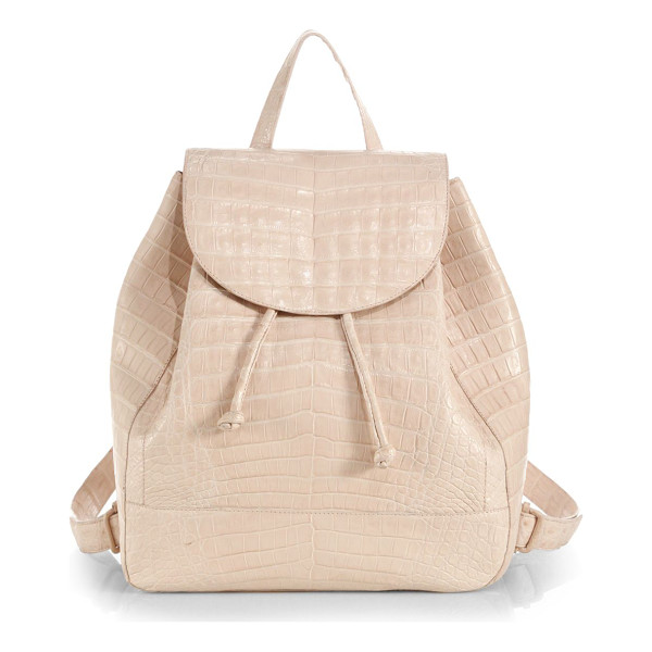 NANCY GONZALEZ Crocodile large backpack - The classic functionality of this everyday staple is...
