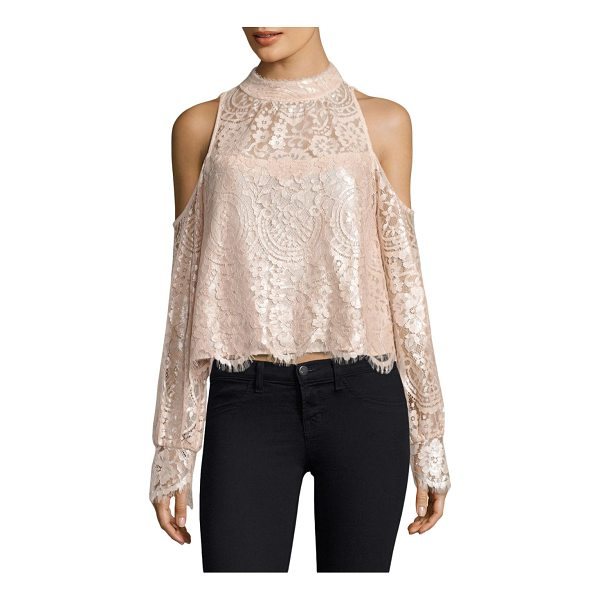 NANETTE LEPORE dazzling blouse - Blouse embellished with floral and lace details....