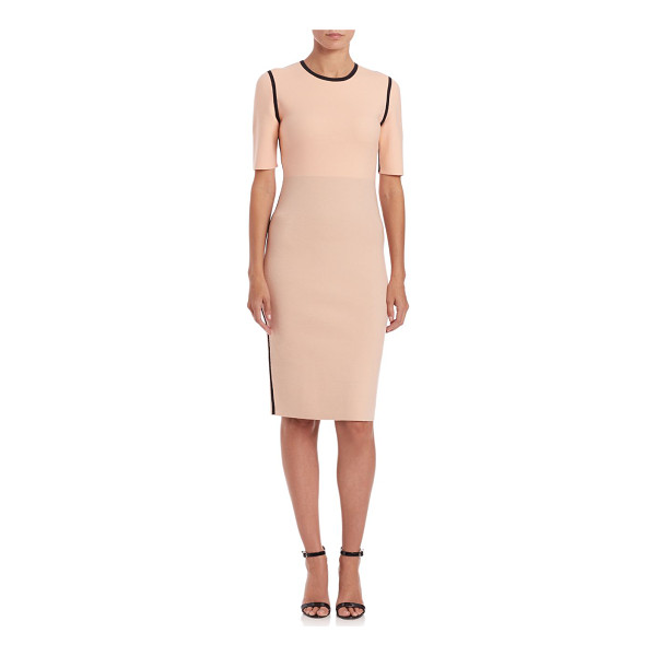 NARCISO RODRIGUEZ Reversible double-knit dress - Double-knit dress reverses to expose alternate...