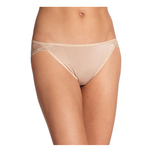 NATORI FOUNDATIONS Disclosure brief - A delicate lace back instantly elevates this classic...