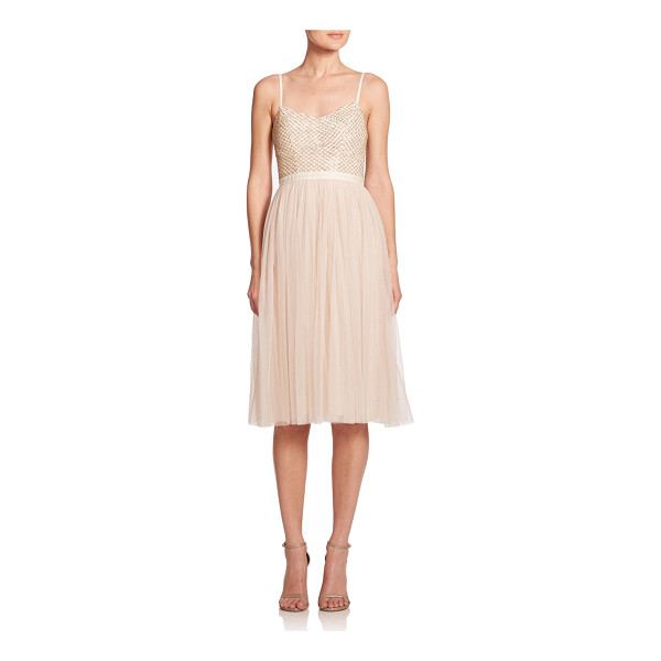 NEEDLE & THREAD Coppelia embellished tulle dress - A dreamy tulle skirt defines this ballerina-inspired dress,...