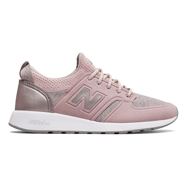 NEW BALANCE lace-up low top sneakers - Lace-up sneakers features modern-athletic style. Synthetic...