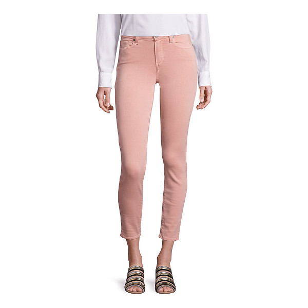 PAIGE verdugo ankle faded jeans - Cool faded jeans modeled in a cropped silhouette. Belt...