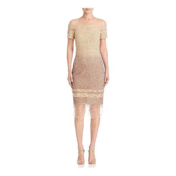 PAMELLA ROLAND signature sequin dress - EXCLUSIVELY AT SAKS FIFTH AVENUE. Sequin dress with...