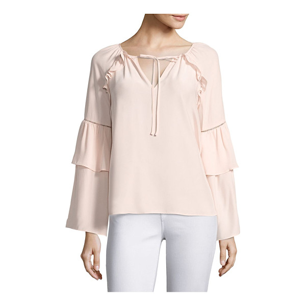 PARKER saturday bell sleeve silk blouse - EXCLUSIVELY AT SAKS FIFTH AVENUE. Bell sleeve blouse...
