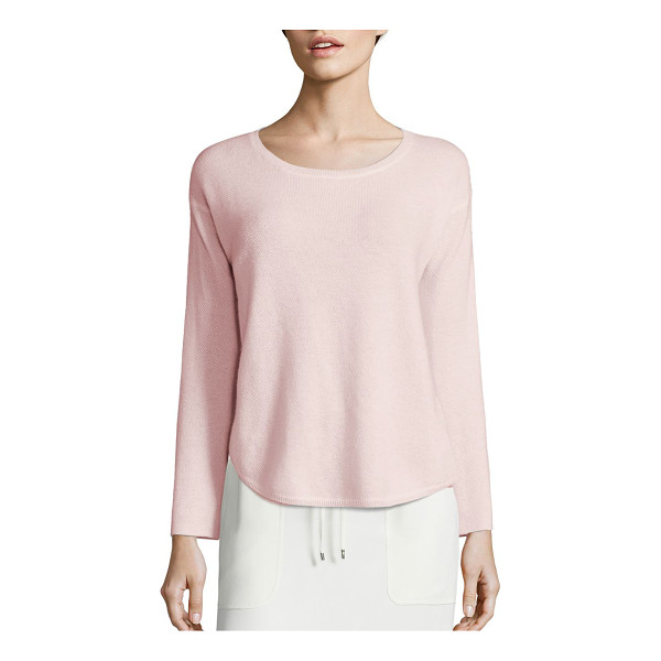 POLO RALPH LAUREN cashmere crewneck sweater - Upgrade your sweater game with this sumptuous yet simple...