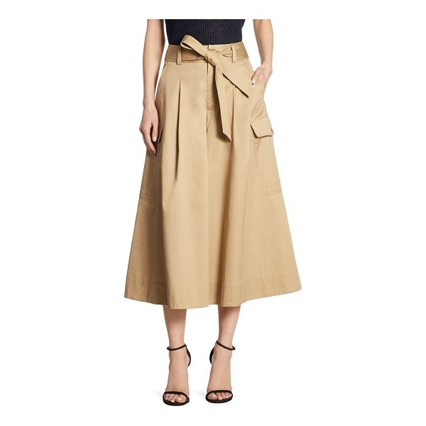 POLO RALPH LAUREN wide-leg cotton chino pants - These wide-leg pants put a modern spin on the classic...
